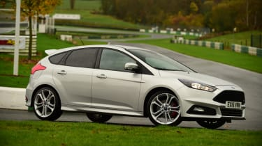 Ford Focus ST Mountune front quarter