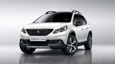 Peugeot 2008 2016 - white front quarter
