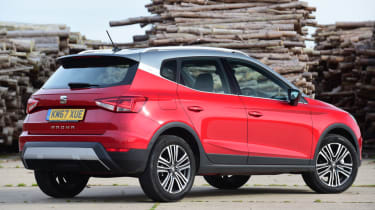 SEAT Arona - rear quarter static