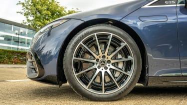 New Mercedes EQS 2021 review - wheel