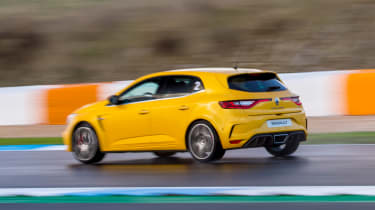 Renault Megane RS 300 Trophy - rear tracking