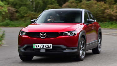 Mazda MX-30 long termer - first report front