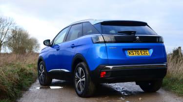 New Peugeot 3008 facelift 2020 rear static