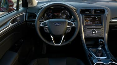 New Ford Mondeo Zetec 1.0 Ecoboost interior
