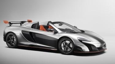 McLaren MSO R Spider front