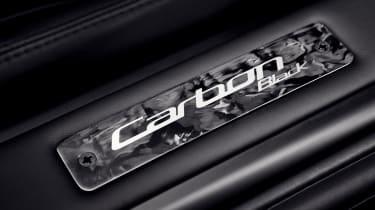 Aston Martin DB9 Carbon Black - plaque