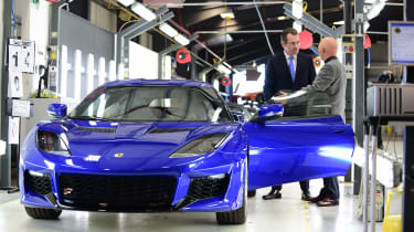 Best of British - Lotus - Evora 400 front