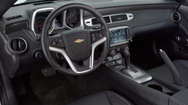 Chevrolet Camaro interior cabin