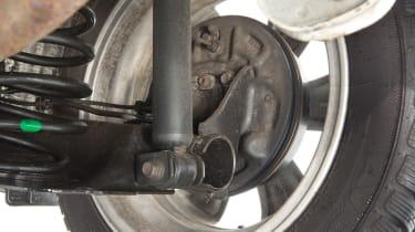 Used Toyota Aygo - suspension