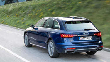 New Audi A4 Avant 2019 rear