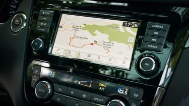 Nissan Qashqai - navigation