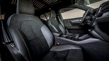 Volvo XC40 T5 Twin Engine - front seats