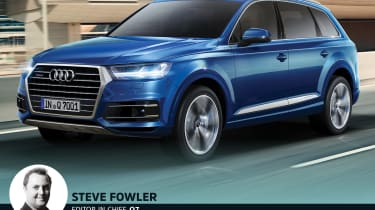 Which Audi Q are you? - Steve Fowler Audi Q7