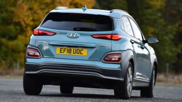 Hyundai Kona Electric - rear cornering