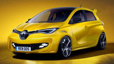 Renault ZOE RS - front (watermarked)
