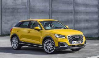 Audi Q2 2.0 TFSI quattro front quarter
