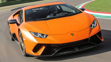 Best track day cars - Huracan Performante Orange