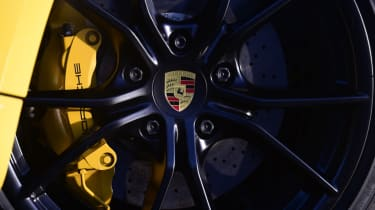 New Porsche Cayman GTS review - alloy wheel