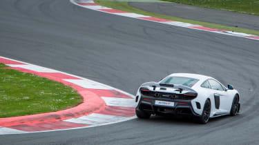 McLaren 675LT - rear cornering