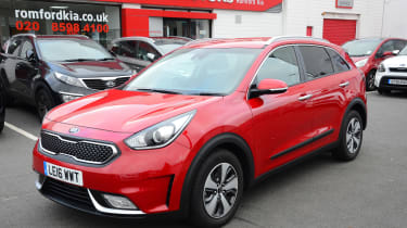 Kia Niro long-term - first report front