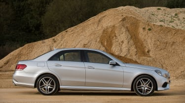 Used Mercedes E-Class - side