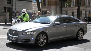 UK prime minister car