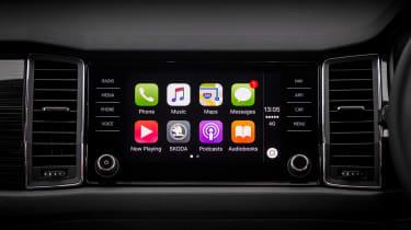 Skoda Kodiaq - Apple CarPlay