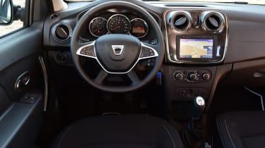 Dacia Sandero 2017 facelift dash