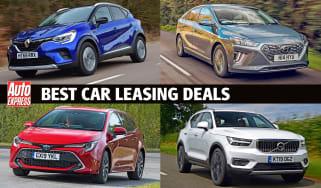 Best car leasing deals - header