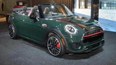 MINI John Cooper Works Convertible - New York front quarter 2