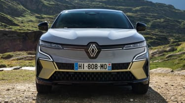 Renault Megane E-Tech Electric SUV - full front