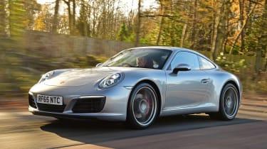 Porsche 911 Carrera S - front