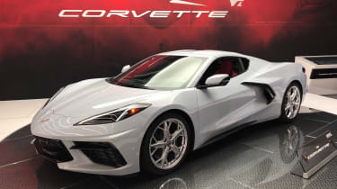 Chevrolet Corvette - Los Angeles front