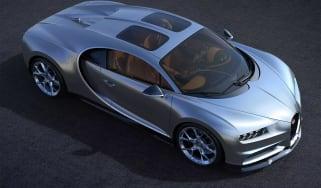 Bugatti Chiron Sky View - front