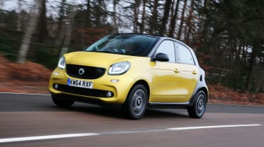 Smart ForFour - front tracking