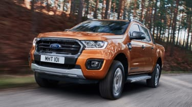 Ford Ranger Wildtrack - front action