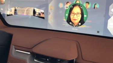 Byton Concept ride - screen