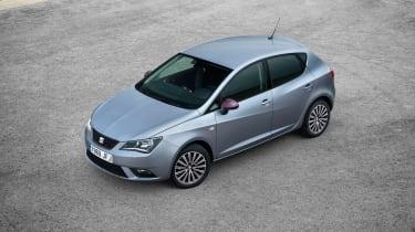 SEAT Ibiza 2015 facelift - overhead