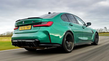 BMW M3 Competition - rear