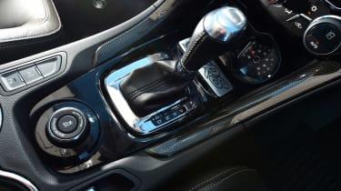 Vauxhall VXR8 GTS - gear stick