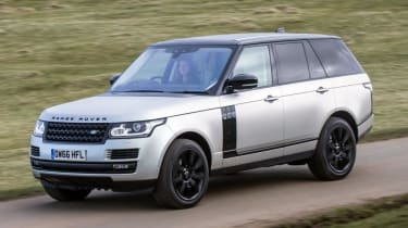 Used Range Rover - front action
