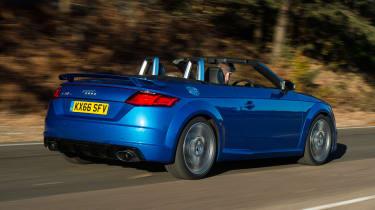 Audi TT RS - rear action