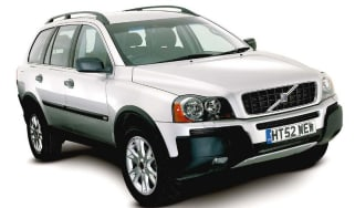 Front view of Volvo XC90