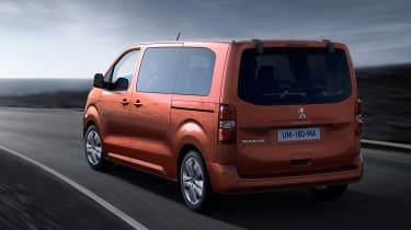 Peugeot Traveller MPV rear