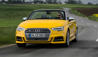 Audi S3 Cabriolet 2016 - front tracking