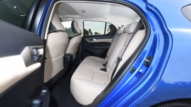 Lexus CT 200h - rear seats