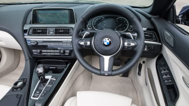 BMW 640d Coupe - dash
