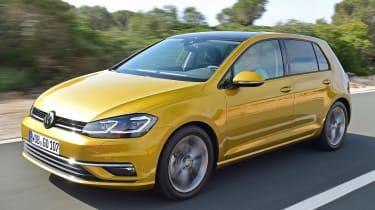 Volkswagen Golf 2017 facelift 1.5 TSI EVO - front tracking