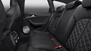 Audi S6 rear seats