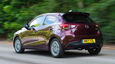 Used Mazda 2 Mk3 - rear action